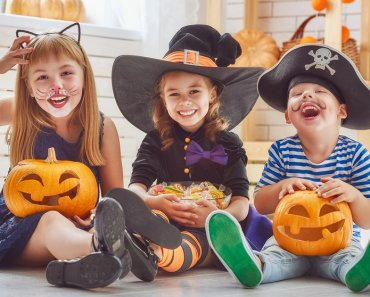 TOTS Family, Parenting, Kids, Food, Crafts, DIY and Travel bigstock-Happy-brother-and-two-sisters-147133931-370x297 Halloween Shows for Kids and Adults on Netflix Kids Parenting TOTS Family Uncategorized  tv halloween