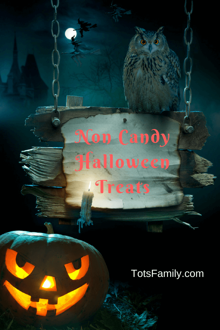 It's hard to believe October is already here and Halloween will be arrive before you know it so here are our Non Candy Halloween Treats roundup.