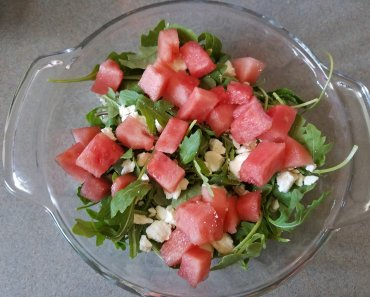 TOTS Family, Parenting, Kids, Food, Crafts, DIY and Travel 20171001_143444-370x297 Watermelon Feta Salad Breads/Soups/Salads Food TOTS Family Uncategorized  Salads salad