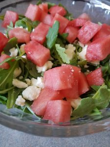 TOTS Family, Parenting, Kids, Food, Crafts, DIY and Travel 20171001_143457-225x300 Watermelon Feta Salad Breads/Soups/Salads Food TOTS Family Uncategorized  Salads salad