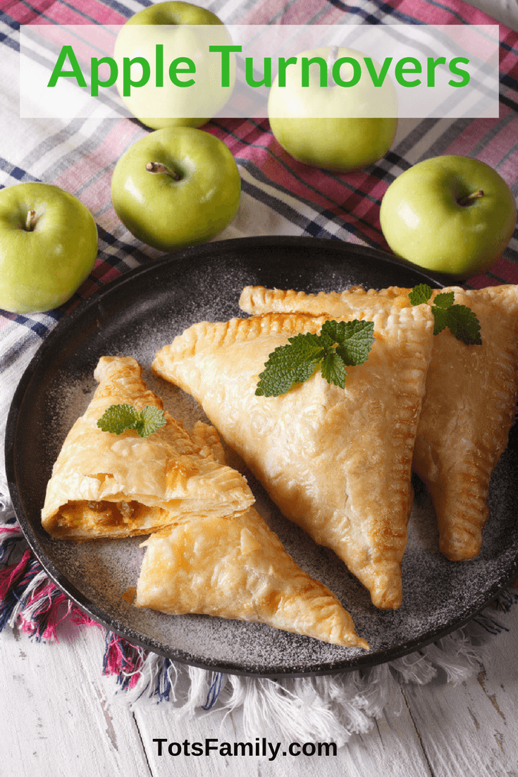 The Apple Turnover - the 4 bite apple pie - heaven on earth for some of us - this Apple Turnover Recipe gets you there.