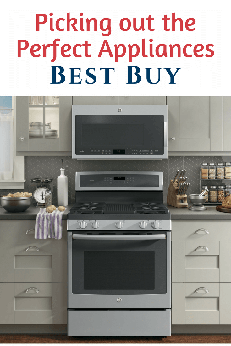 Whenever we're in the market for a new appliance, there is only one place you'll find us Picking Out the Perfect Appliances at Best Buy.