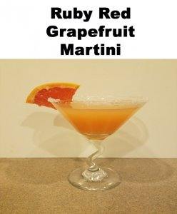 Fruit is refreshing any time of year and I just love a good ruby red grapefruit martini.