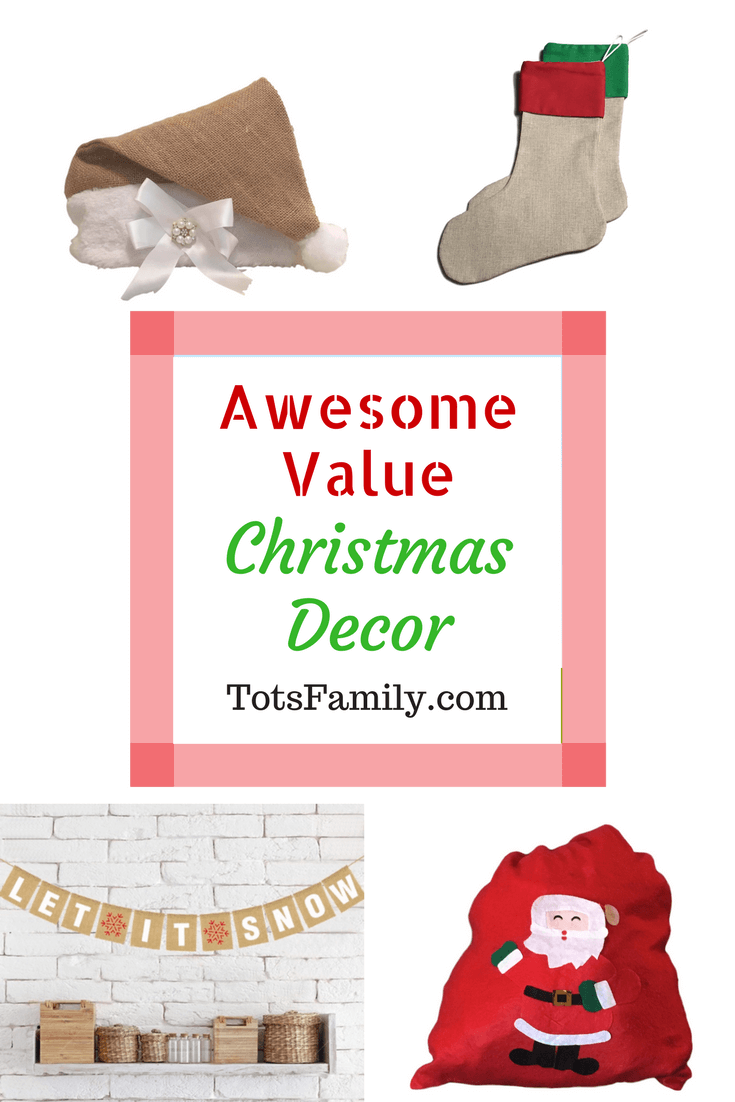 Awesome Value Christmas Decor