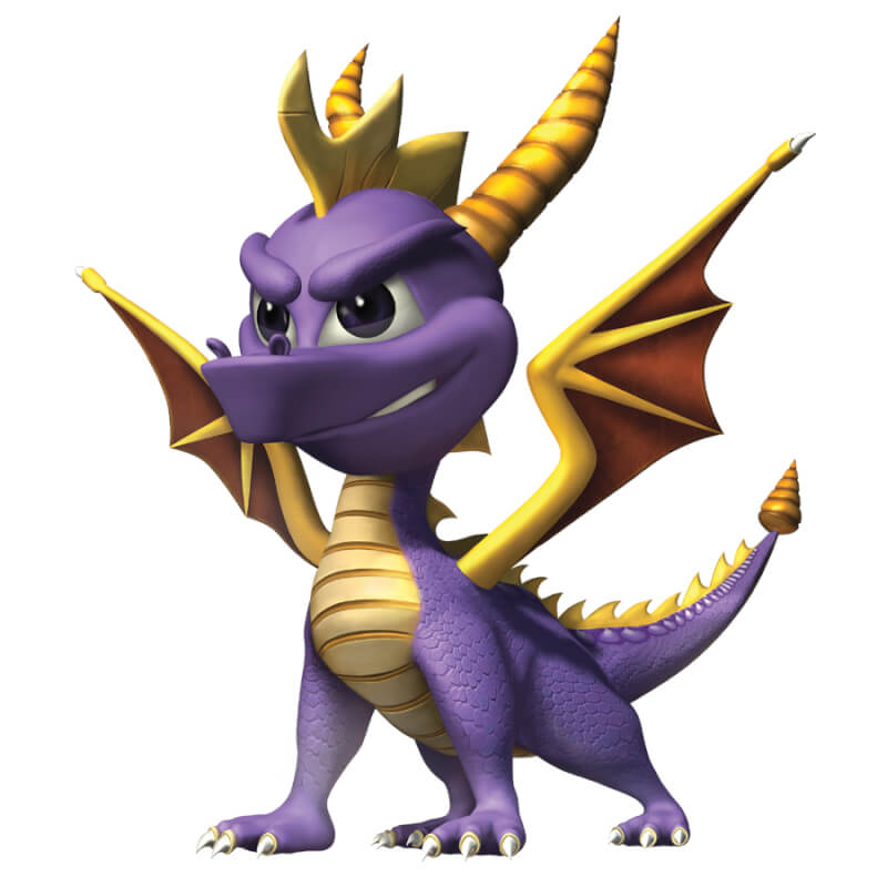 The 10 Cutest Video Game Characters in Gaming History Spyro