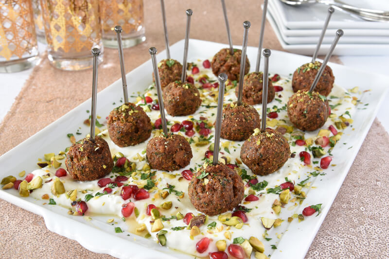 Turkey Falafel Bites This Holiday Season