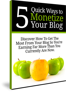 5 Quick Ways to Monetize Your Blog