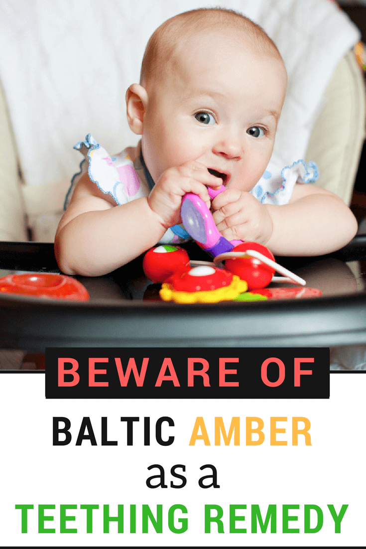 As a Parent you only want the very best for your Baby while they teeth but beware of Baltic Amber as a Teething remedy.