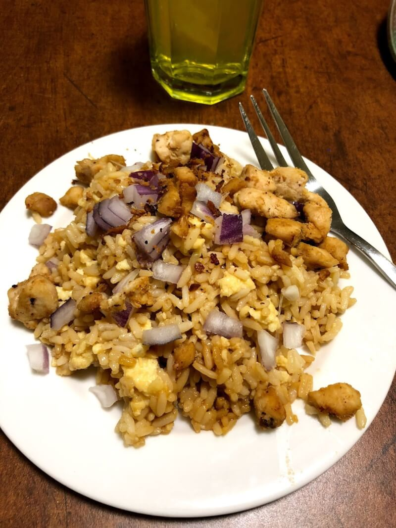 Hibachi Chicken And White Rice Recipe Tots Family Parenting Kids Food Crafts Diy And Travel