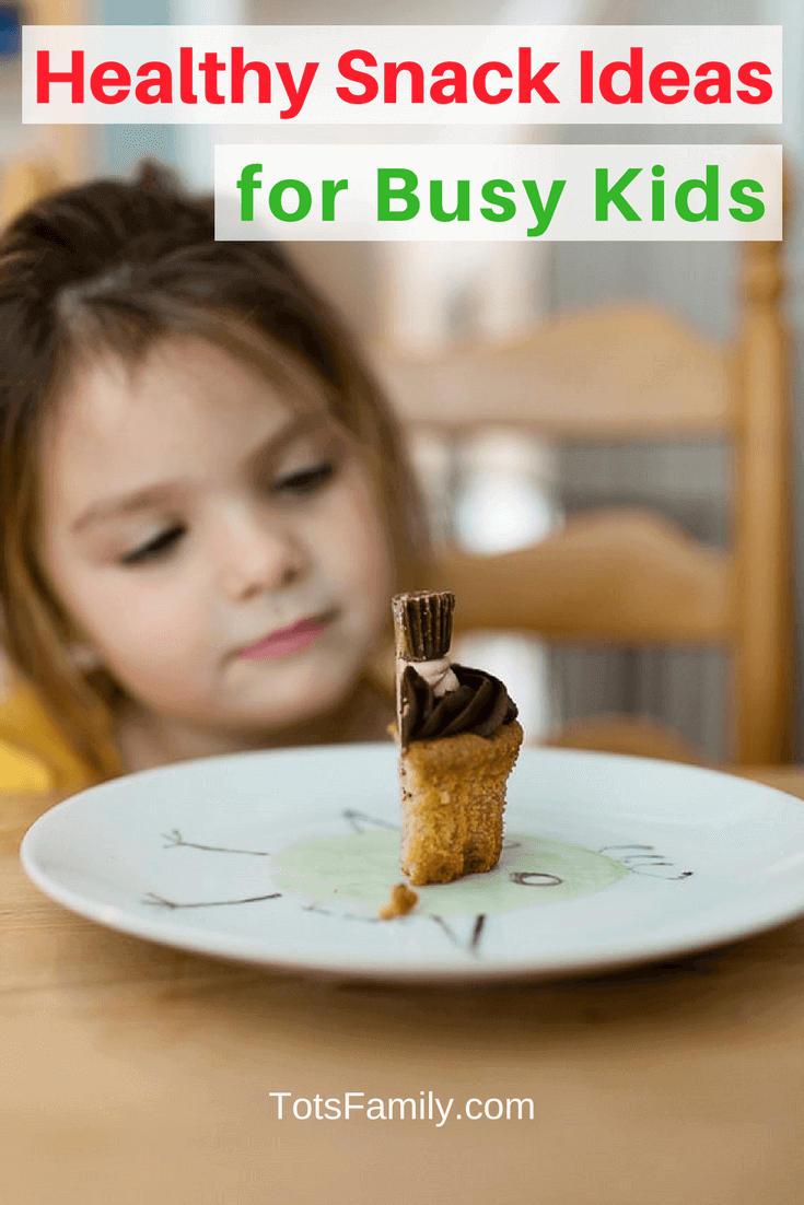 Although breakfast is the most important meal of the day, we mustn't forget healthy snack ideas for busy kids.