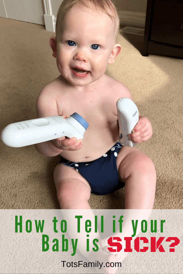 TOTS Family, Parenting, Kids, Food, Crafts, DIY and Travel How-to-tell-if-Your-Baby-is-Sick_ How to tell if Your Baby is Sick? Health & Wellness Kids Parenting Sponsored TOTS Family  temperature take temperature sickness sick kids sick