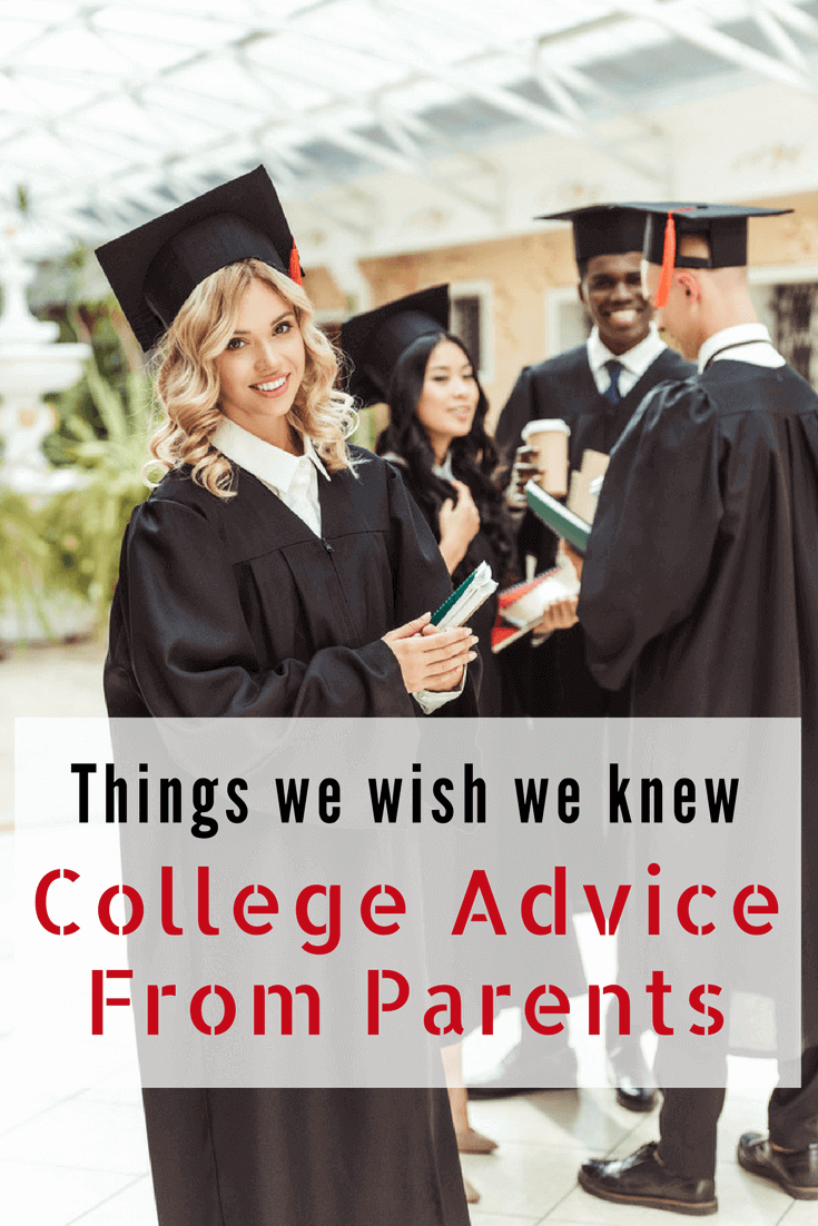 Things We Wish We Knew: College Advice From Parents