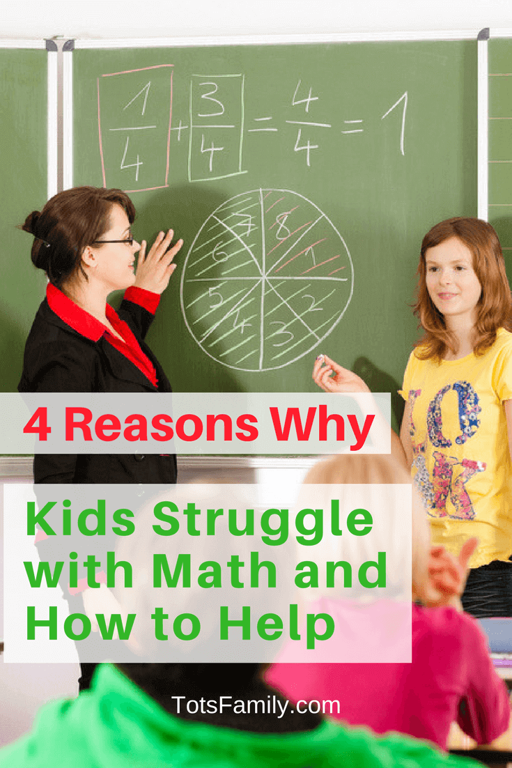 4 Reasons Why Kids Struggle with Math and How to Help