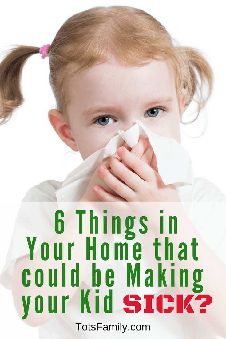 As a parent, it's important for you to know that these 6 Things in Your Home That Could Be Making Your Kid Sick.