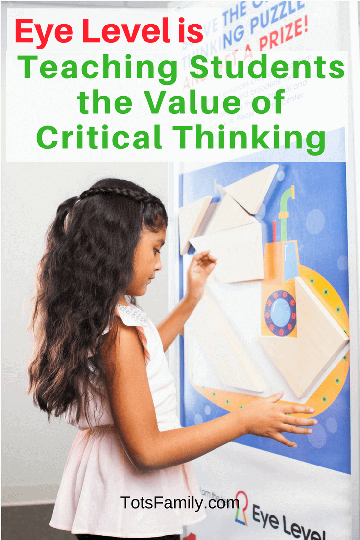 What if you could enhance your child's critical thinking and problem-solving skills? On top of these skills, what if you could build confidence and self-directed learning habits? Eye Level is Teaching Students the Value of Critical Thinking.