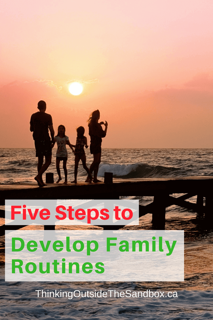 If you want your family to be more productive then discover these five steps to develop family routines.