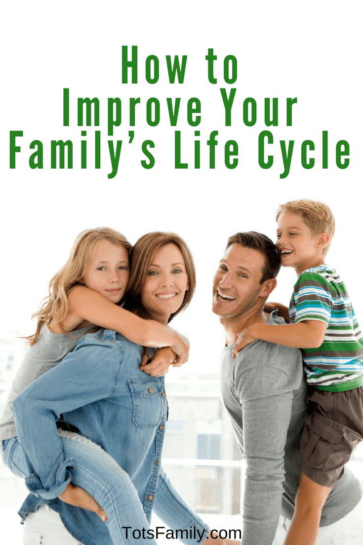 How To Improve Your Family S Life Cycle Tots Family Parenting Kids Food Crafts Diy And Travel