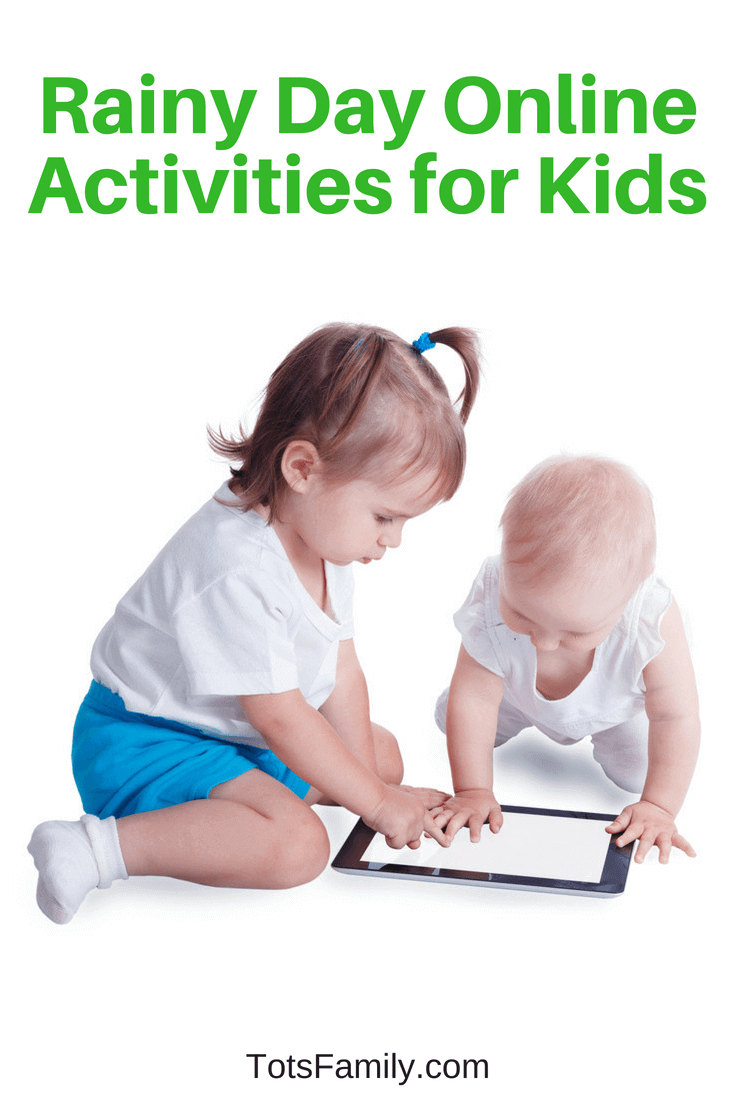 It's something every parent dreads -- a rainy weekend day where the kids are stuck inside with so much energy and nothing to spend it on so check out these rainy day online activities for kids.