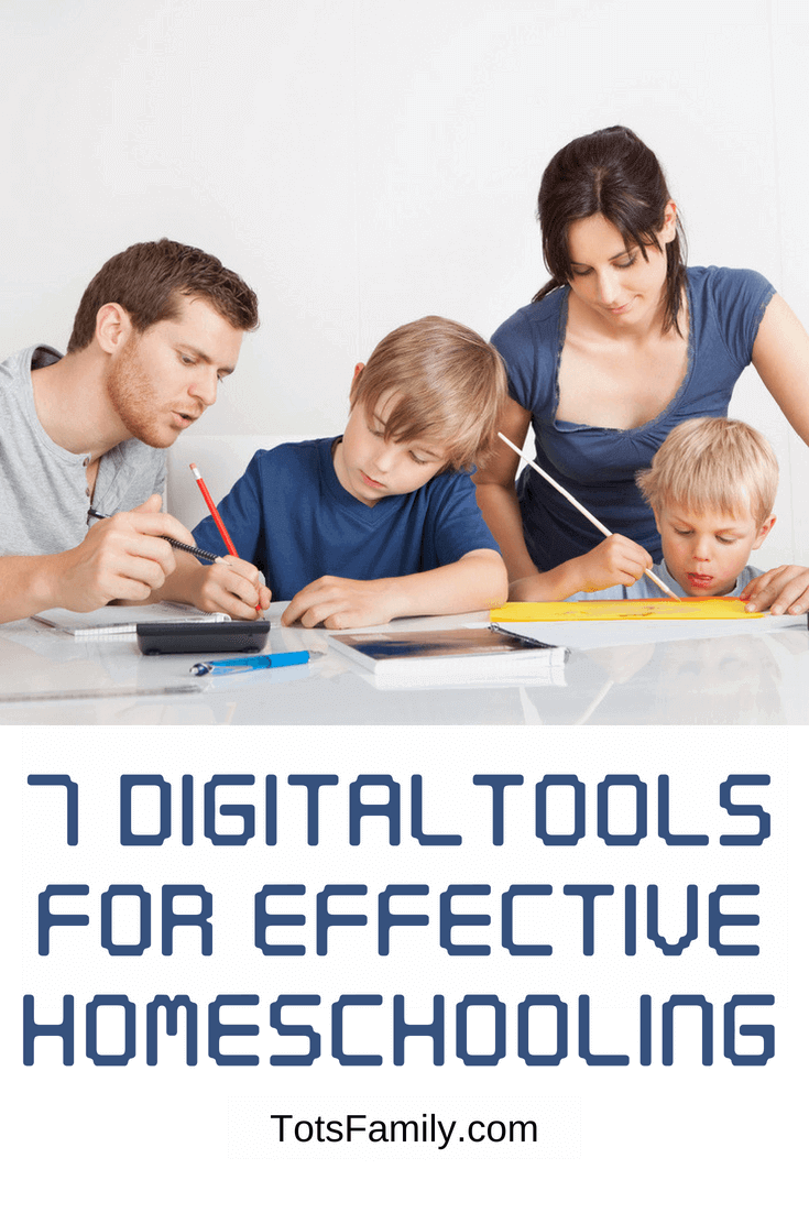 TOTS Family, Parenting, Kids, Food, Crafts, DIY and Travel 7-Digital-Tools-For-Effective-Homeschooling 7 Digital Tools For Effective Homeschooling Homeschooling Kids Learning TOTS Family  screen time homeschool ideas homeschool Digital Apps