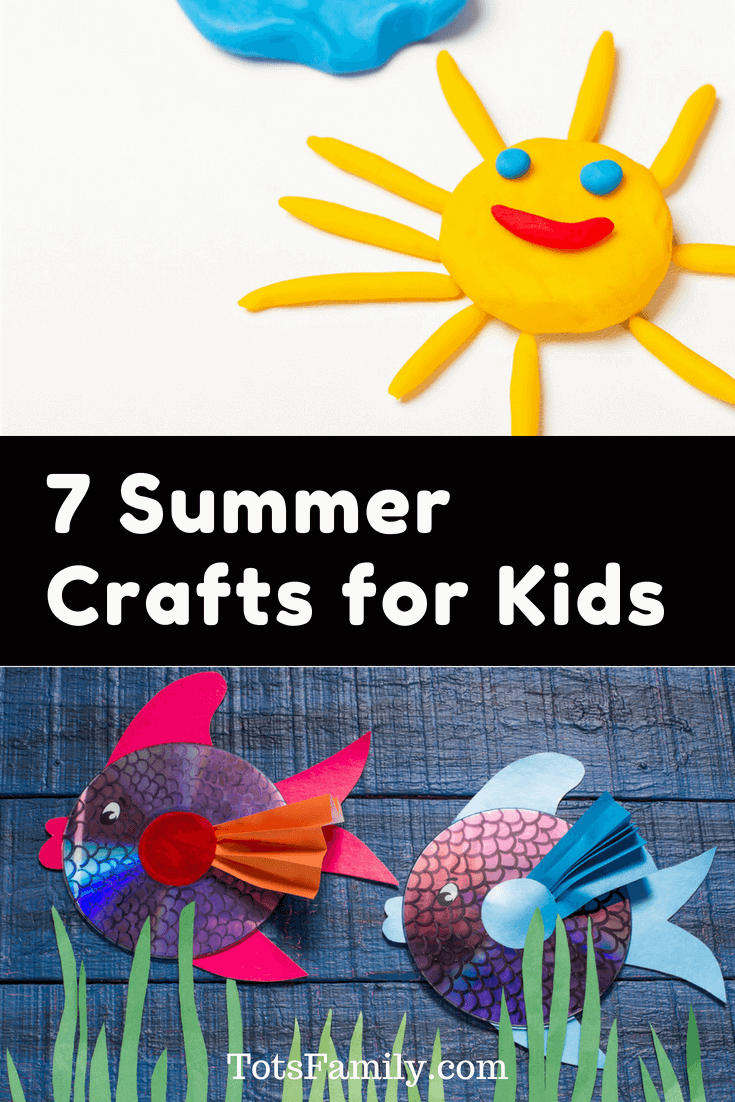 TOTS Family, Parenting, Kids, Food, Crafts, DIY and Travel 7-Summer-Crafts-for-Kids 7 Summer Crafts for Kids Crafts Kids Learning TOTS Family Uncategorized  summer crafts craft for kids craft