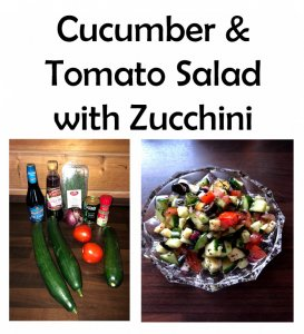 TOTS Family, Parenting, Kids, Food, Crafts, DIY and Travel CucumberAndTomatoSaladWithZucchini2-273x300 Cucumber & Tomato Salad with Zucchini Breads/Soups/Salads Food Miscellaneous Recipes  salad Gourmet Salads