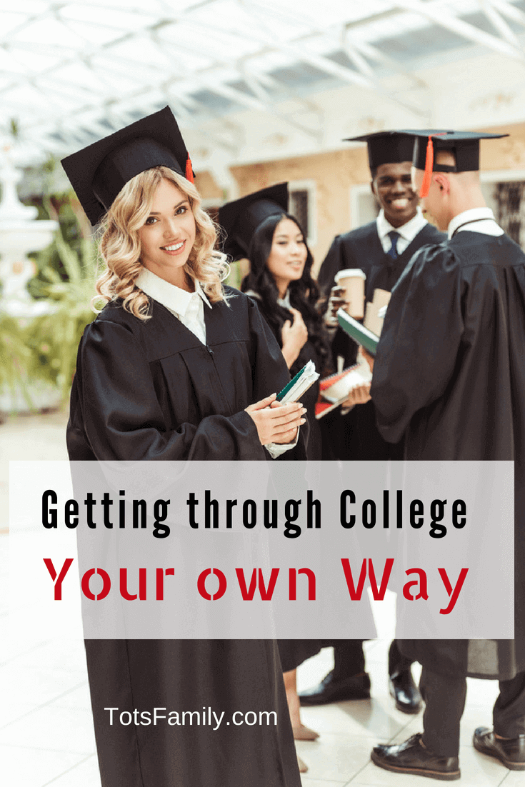 On your way to college? It's time to put the worst of that kind of worry to bed: plan on getting through college your own way, and no one is going to be able to criticise you for it.