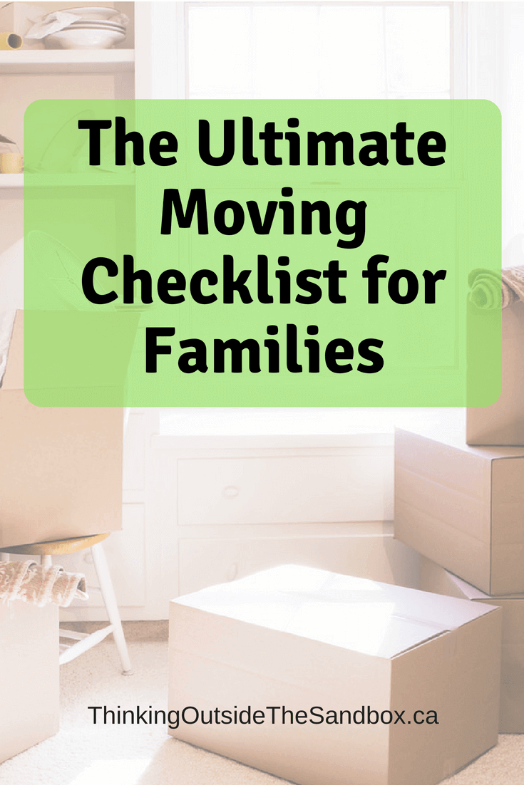 Moving to a new home is stressful, especially if you have lots of things you need to move - use thisMoving Checklist for Families to make the event easier.