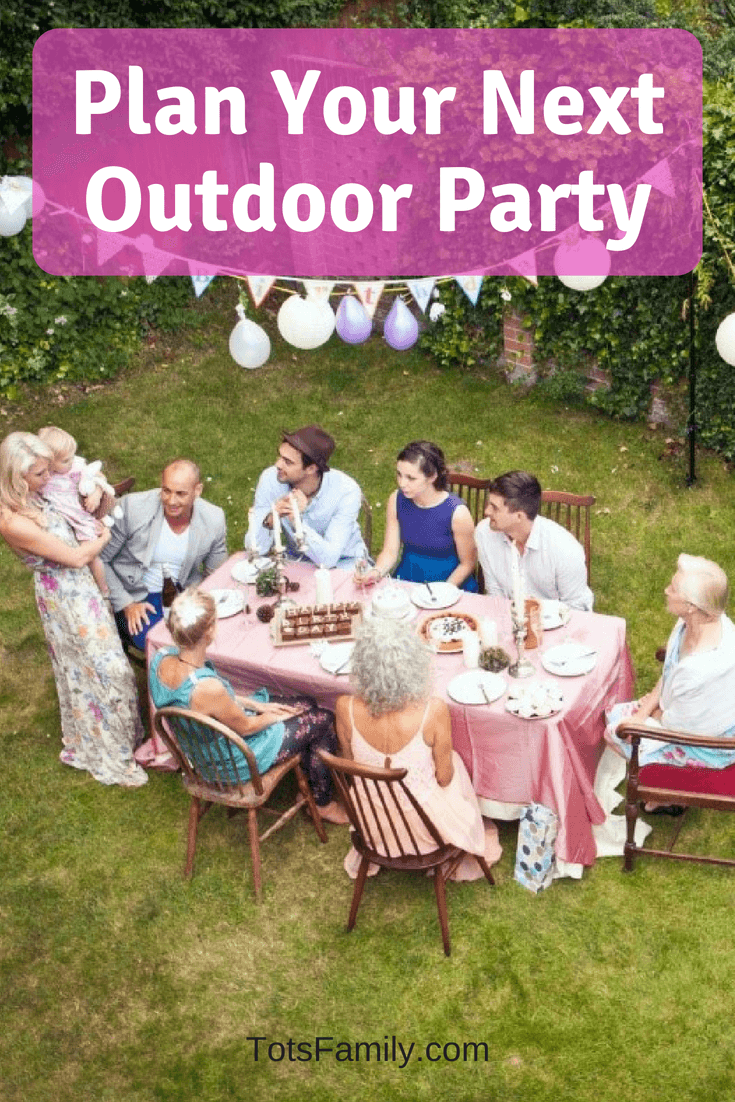 Plan Your Next Outdoor Party