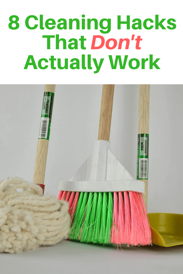 8 Cleaning Hacks That Don't Actually Work