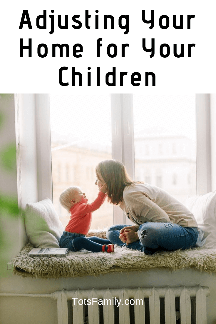 Adjusting Your Home for Your Children seems like a lot of work, especially when you know you'll have to create a balance between functionality and style.
