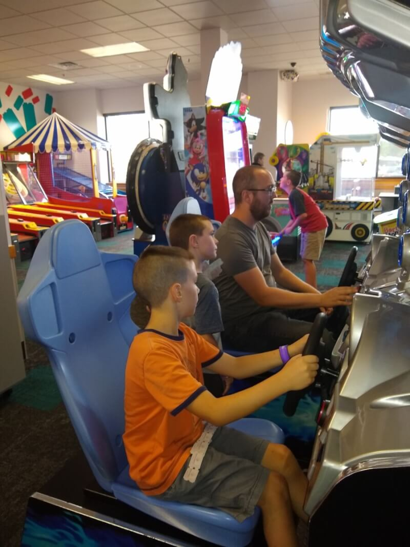 Some of the family games at The Newest Chuck E. Cheese in Mishawaka has