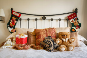 Doing a holiday bedroom makeover is one of 4 Fun Ideas to Keep Kids Busy Over the Holidays