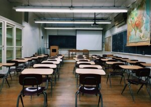 image of an empty classroom - Is a Faith School Right for Your Child?